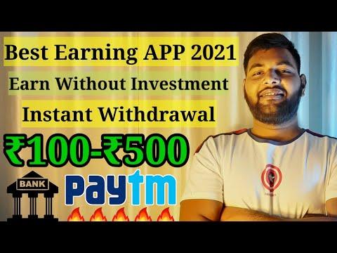 Best Simple Earning APP for Android 2021   Earn Money Online   Make Money Online   Earn Upto 100-500