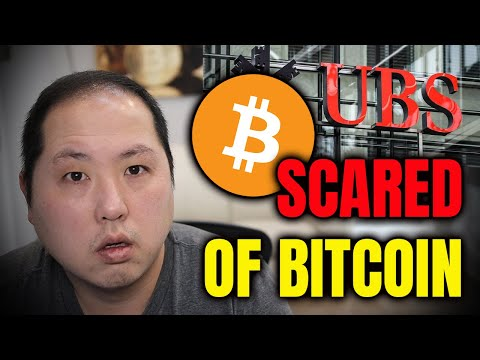 BANKS ARE GETTING SCARED!! UBS LATEST FUD ABOUT BITCOIN!