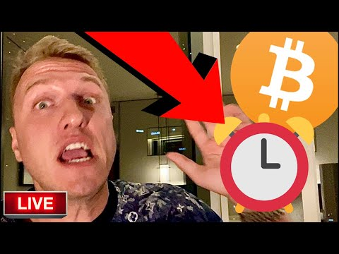 THE CLOCK IS TICKING FOR BITCOIN RIGHT NOW!!!!!!!!!!!!!!! [next exact move..]