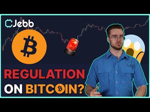 BIG Bitcoin News and possible Incoming Regulation??