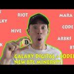 Bitcoin Mining Stocks UPDATE | Galaxy Digital & Codebase NEW BTC MINERS! [MARA,RIOT,HIVE,CODE,GLXY]