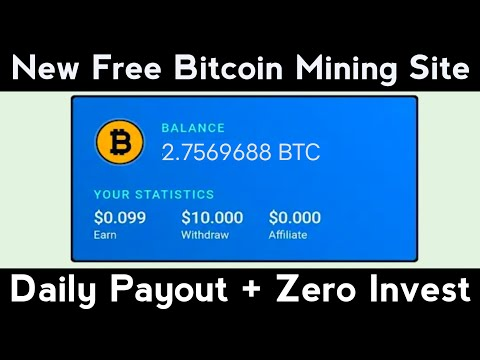 Free Bitcoin Mining Sites Without Investment 2021, Free Cloud Mining Sites, New Bitcoin Mining Sites