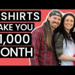 BEST ETSY SHIRTS TO SELL (2021) HOW TO MAKE MONEY ONLINE DROPSHIPPING FOR FREE ON INCREASE SALES