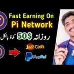 Pi Network Fast Earning - Earn Money Online With Pi Network App - Pi Network new Update - Withdrawal