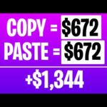 Make $672 For Copy And Pasting Images (Make Money Online)