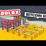 Starting a BITCOIN MINING COMPANY in ROBLOX