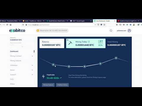 Best New Free Bitcoin Mining Website 2021 | Full Review Exabit.Co Scam or Legit?