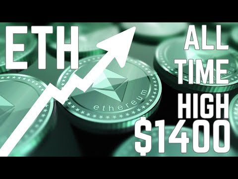 CRYPTO NEWS - ETHEREUM BREAKS ALL TIME HIGH