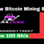 New Free Bitcoin Mining Site - Free 100 Gh/s Sign Up Bonus - Baracome