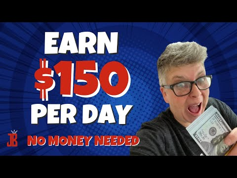 How to make $150 a day and make money online for FREE with NO Website