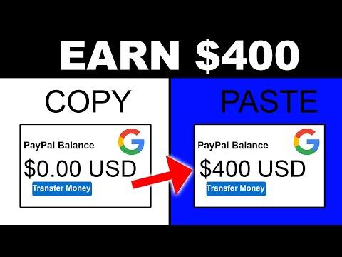 Earn $400 Per Day For Pasting Links [Make Money Online 2021]