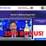 Bitcoin Era Review 2021 SCAM or Legit? Registration and BONUS Live Trade 🏆