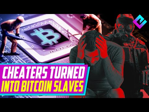 Cheaters Get Hacked Into Bitcoin Mining Slaves