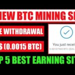 High Paying Earning Sites 2021, New Bitcoin Mining Sites, New Bitcoin Earning Websites 2021