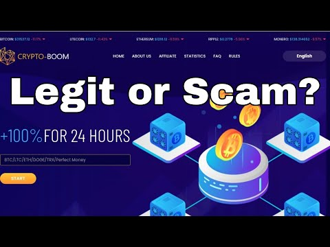 Crypto-Boom.Ltd Scam or Legit? | New 00 Days Running Doubler Site 2021 | Full Review
