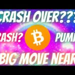 Bitcoin BTC Breaking News Crash Over??? Expect Big Move Soon Price Predictions & Technical Analysis