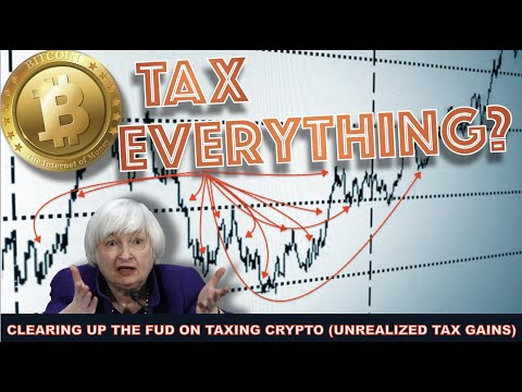 TREASURY NOMINEE WANTS TO TAX UNREALIZED CAPITAL GAINS ON YOUR BITCOIN & CRYPTO? NOT LIKELY.