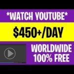 🔥🎥 Earn $450+/Day Watching YOUTUBE VIDEOS (Make Money Online 2021)