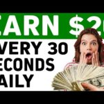 Earn $20 EVERY 30 SECONDS *NEW* (Make Money Online 2021)