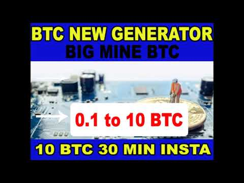 New fast Bitcoin hack   BTC generator 2021   how to get free BTC no investment