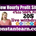 Earn 50$daily|New Bitcoin Mining site|Btc earning site 202|Best btc Mining site|constantearn.com