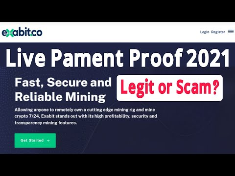 Exabit.Co Scam or Legit? | Free Bitcoin Mining Site 2021 | Pament Proof | Full Review