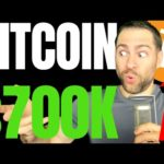 BITCOIN 2021 MARKET OUTLOOK REPORT PREDICTS $700K BTC BY END OF 2021; $40K IS ONLY THE BEGINNING!!