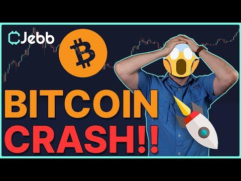 Huge Bitcoin Crash! - Here Is My 7 Day Bitcoin Price Prediction!
