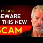 DO NOT Get Scammed By This New Method - Do This Instead With Bitcoin .Michael Saylor Interview 2021.