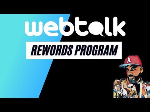 Webtalk rewards update   Make Money Online fast 2021 ($5 per referral)