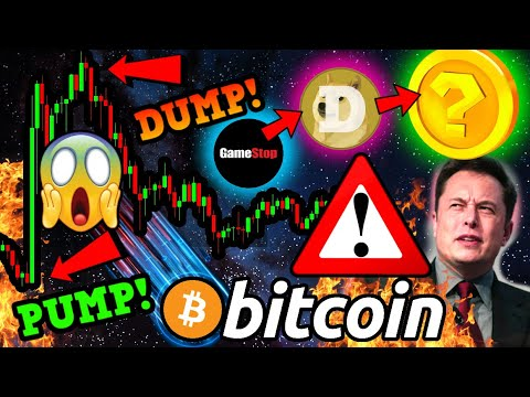WTF?!! BITCOIN ELON MUSK PUMP & DUMP!!!! [this happens now] The NEXT $GME / $DOGE will be DeFi