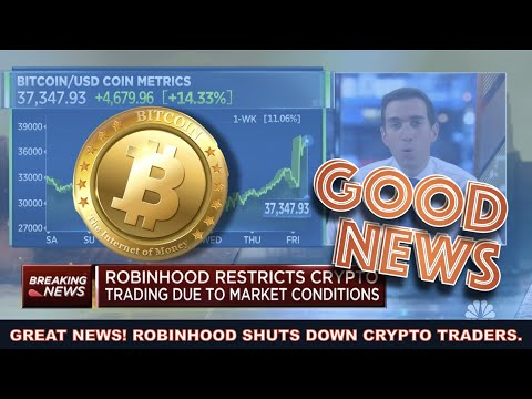 WHY ROBINHOOD SHUTTING DOWN BITCOIN & CRYPTO TRADING IS THE BEST NEWS EVER + VOYAGER DOWN AGAIN?!?