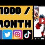 how to make money on TikTok 2021 | make money online uploading video [How to make money online 2021]