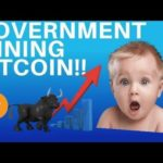 BITCOIN MINING BY A GOVERNMENT! - BULLISH FOR CRYPTO??