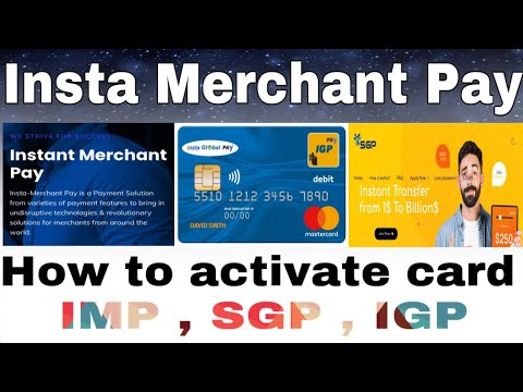 How to active card IMP , IGP , SGP without BTC ? Insta merchant pay se fund kse nikale | Sgp fund |