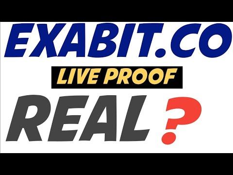 Exabit.co Mining Site Real or Scam with Proof   New Free Bitcoin Mining Site 2021