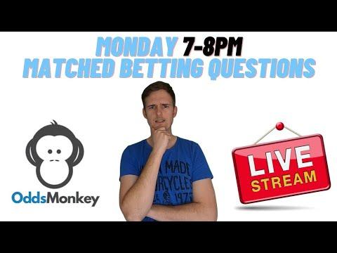 Monday Matched Betting Questions Stream OddsMonkey Profit Accumulator Make money online UK