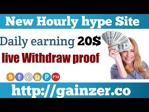Earn 20$daily  New Bitcoin Mining site 2020 Btc earning site 2021 Best btc Mining site gainzer.co