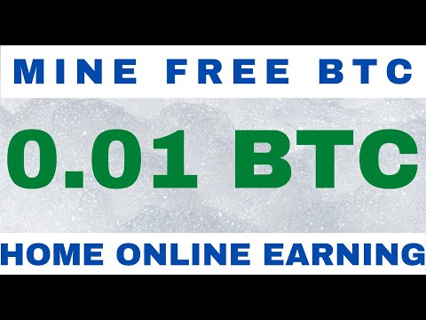 0.001 NEW FREE BITCOIN CLOUD MINING SITE|HOW TO MAKE MONEY ONLINE FROM HOME||LIVE PROOF 2021