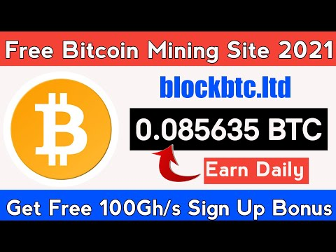 Free Bitcoin Mining Website Without Investment 2021 | Daily Earn 0.08 BTC | Bitcoin Generator