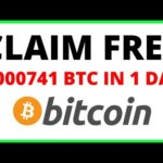 Bitcoin Mining Site That Pays You FREE Bitcoin 2021 Earn 0.000741 BTC in 24 HOURS