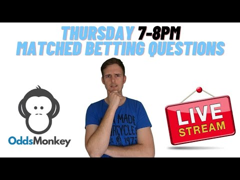 Thursday 4/2/21 Matched Betting Questions Stream OddsMonkey Make money online UK