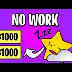 Earn $1000+ For Doing NOTHING! Make Money Online 2021