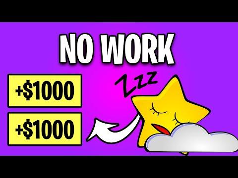 Earn $1000+ For Doing NOTHING! Make Money Online 2021