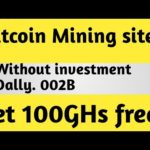 Bitcoin Mining Site without investment dally 0.002btc /singup bonus 100GHs