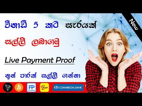 earn money at home 2021|e money sinhala|online jobs|earn tron coin |earn free btcoin