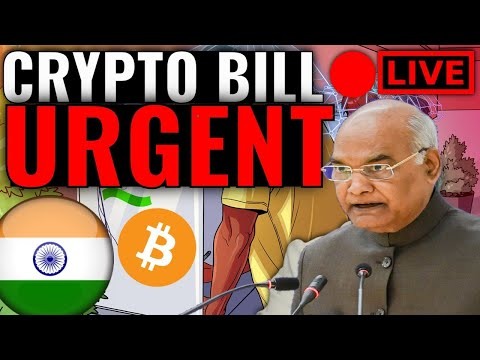 URGENT : CRYPTO BAN BILL PASS BY PRESIDENT OF INDIA | ORDINANCE ROUTE
