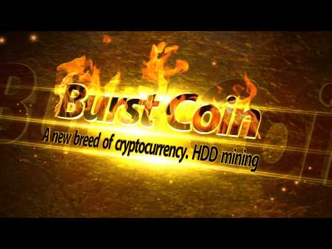 Burst Coin. A new breed of cryptocurrency