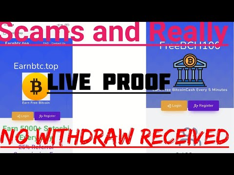 Free Bitcoin faucet Scams Sites Review, Live Proof