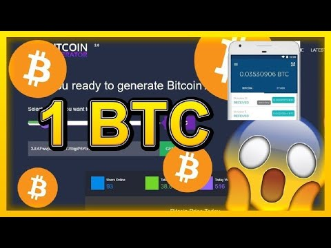 BITCOIN GENERATOR EVERY DAY! PAYMENT AND LEGIT PROOF! ONLY 2021!